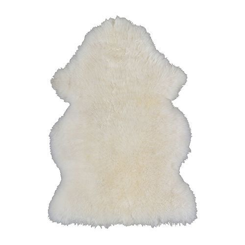 Ikea Luude Sheepskin Rug