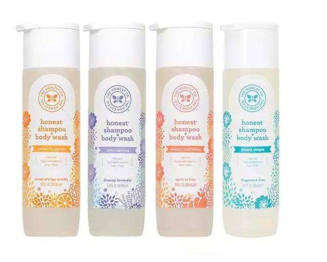 The Honest Company Shampoo + Body Wash