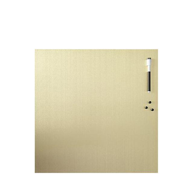 brushed gold magnetic-dry erase board
