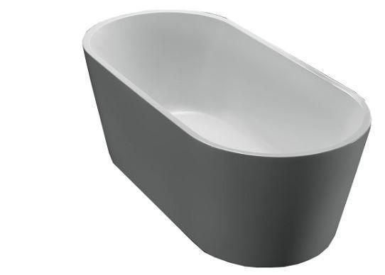 1500 Akemi Oval Free Standing Bath