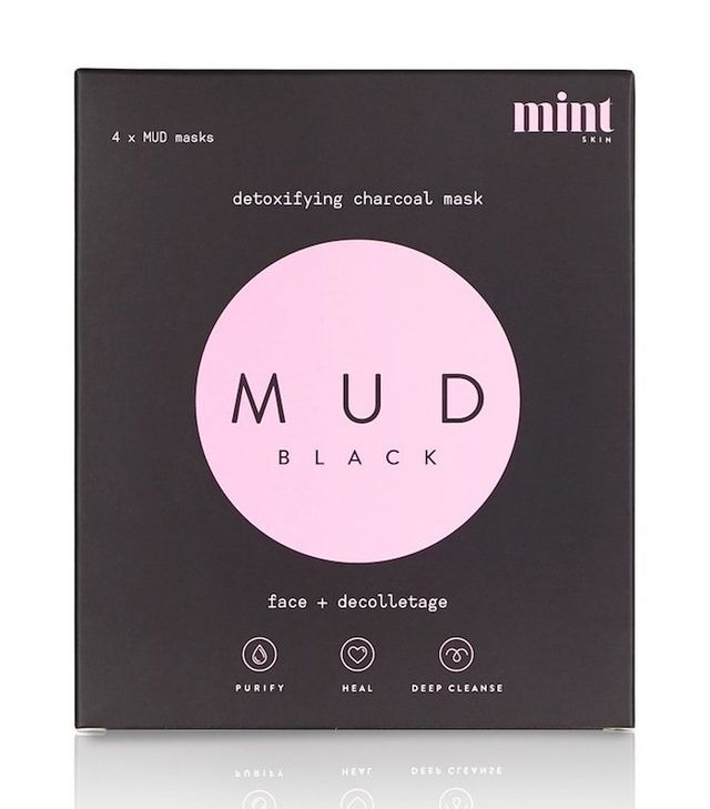 Mint Skin Mud Black Mask