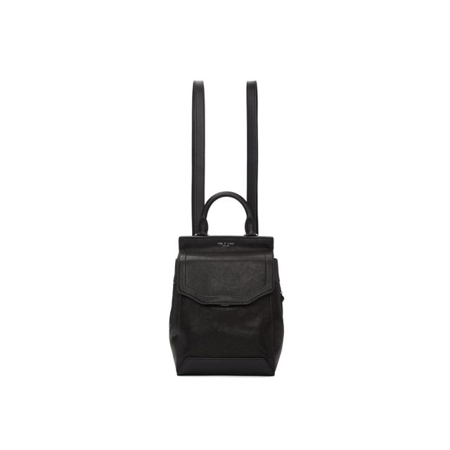 Rag & Bone Black Small Pilot II Backpack