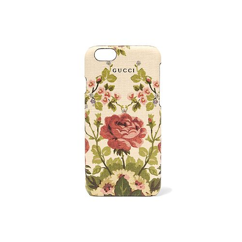 Gucci Adonis floral-print textured iPhone 6 case