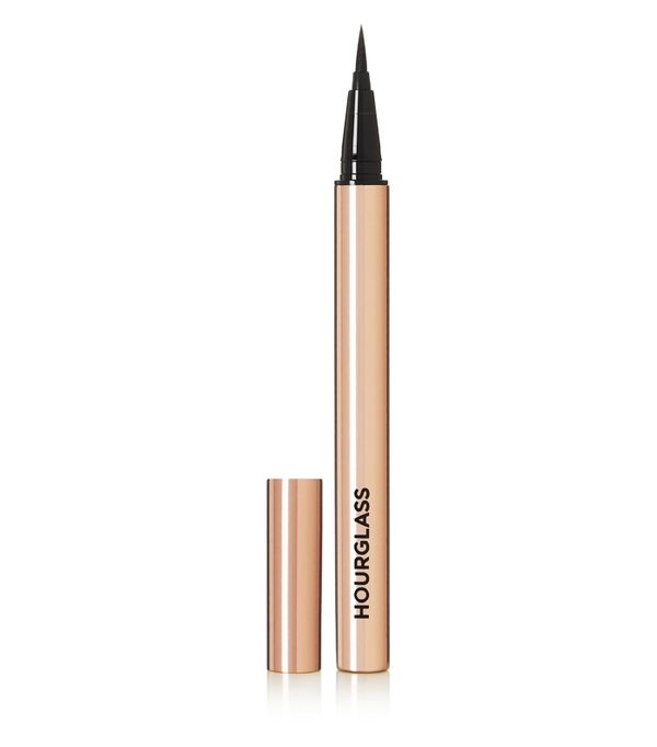 Waterproof eyeliners: Hourglass Voyeur Waterproof Liquid Liner in Ultra Black
