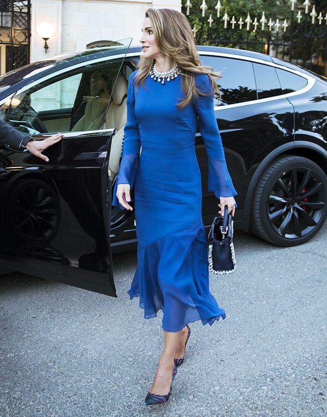 69f85e4394d Queen Rania of Jordan's Style Is Beyond Chic | Who What Wear