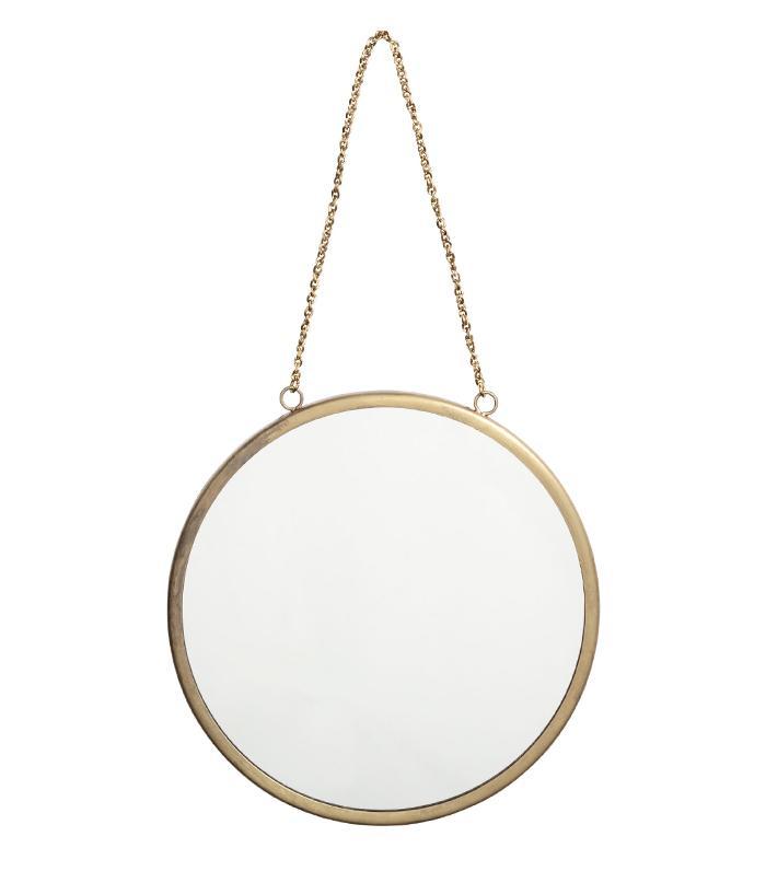 H M Round Wall Mirror