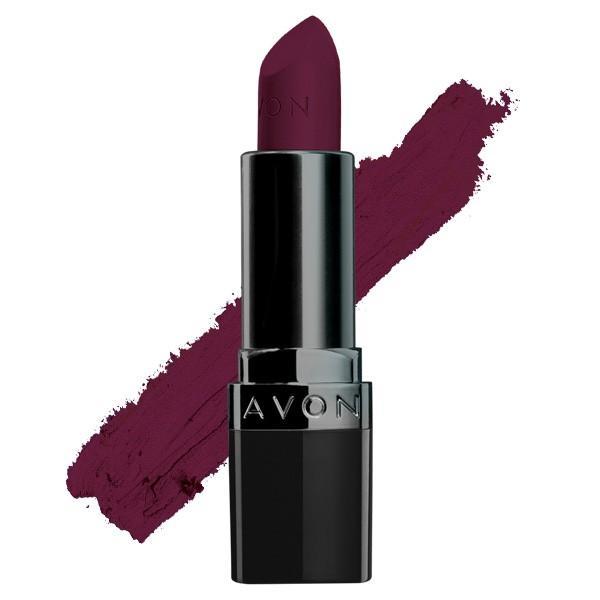 Avon True Colour Perfectly Matte Lipstick in Superb Wine