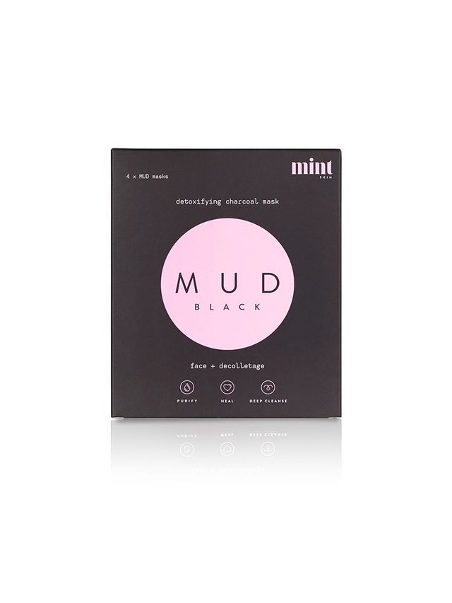 Mint Skin Mud Black Detoxifying Charcoal Mask