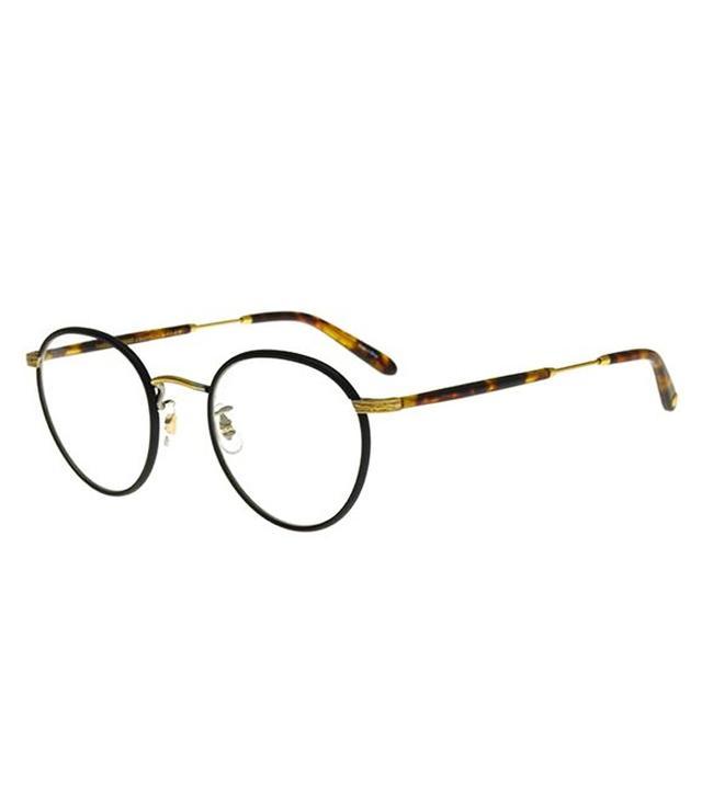 95fb3409ea2 Garrett Leight Metal Frame Glasses  Garrett Leight Wilson Matte Black