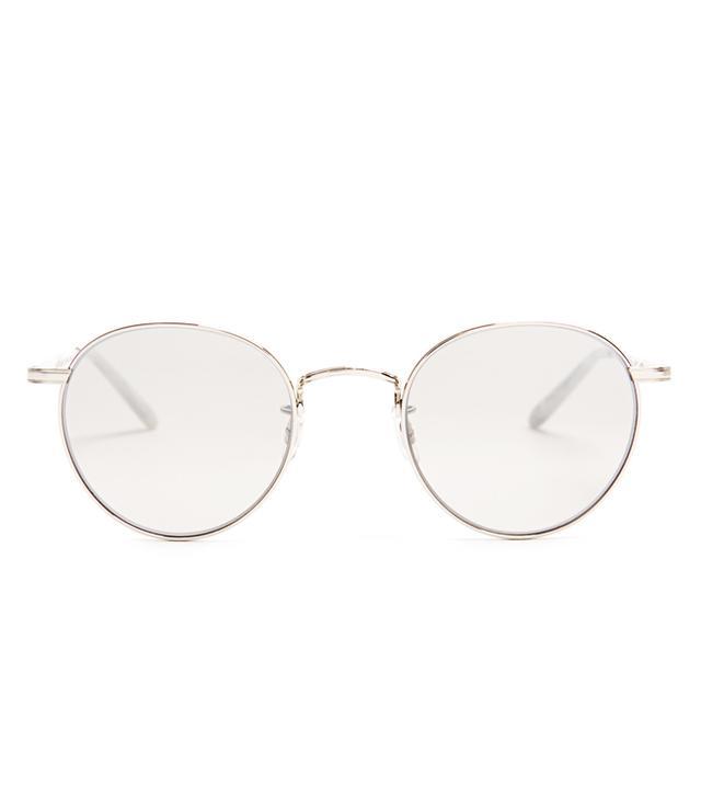 131ee2fbd4c Garrett Leight Metal Frame Glasses  Garrett Leight Wilson Round-Frame  Sunglasses