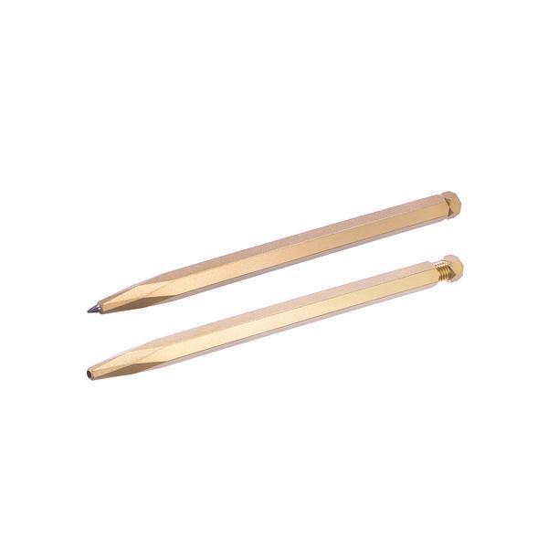 Another Country Krama Studio Krama Raw Brass Rollerball Pen