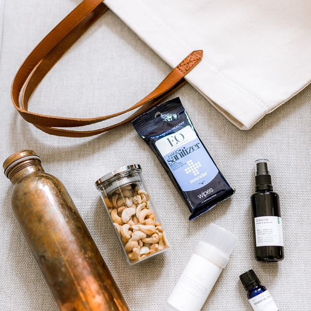 What a Wellness Influencer Keeps in Her Bag