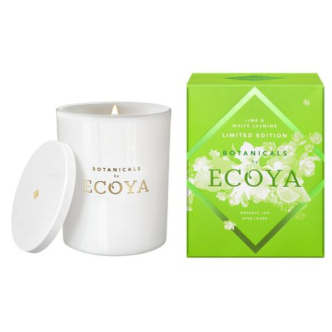 Lime & White Jasmine Candle