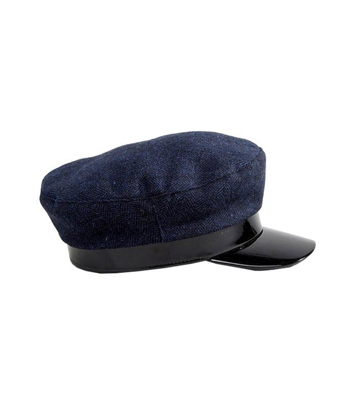 6f74d3716a1 Pinterest · Shop · ASOS Baker Boy Cap With Patent PU ...