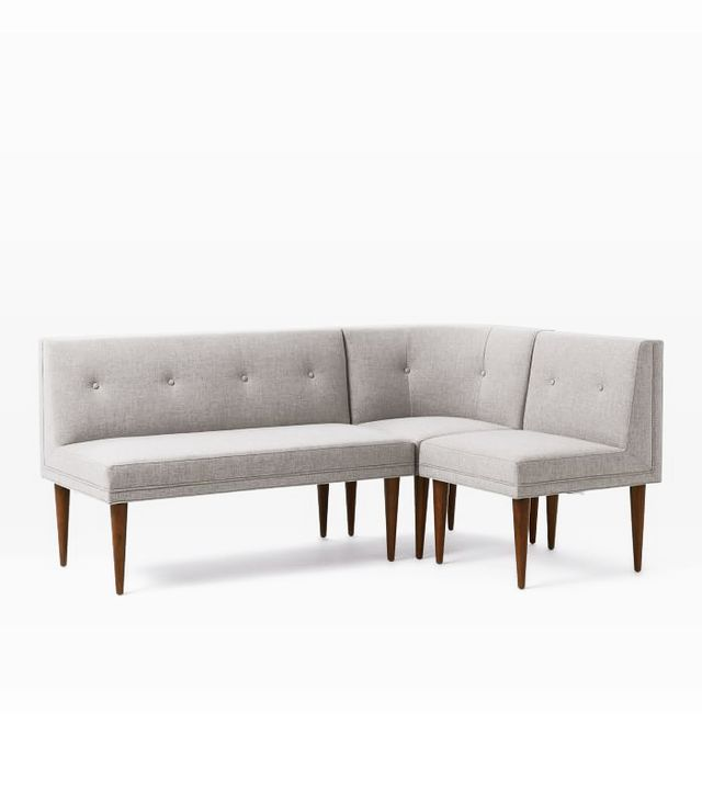 Mid Century Banquette Set 2: (1 Bench