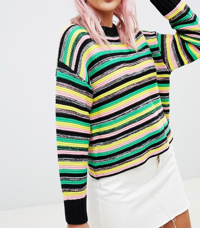 The Best Rainbow Striped Jumpers Who What Wear Uk