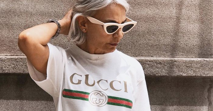 Stylish Women Over 50 And The Cool Clothes They Wear  Who -1524