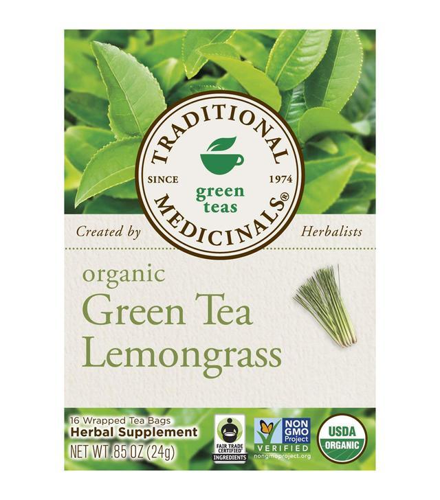 Traditional Medicinals Organic Green Tea Lemongrass