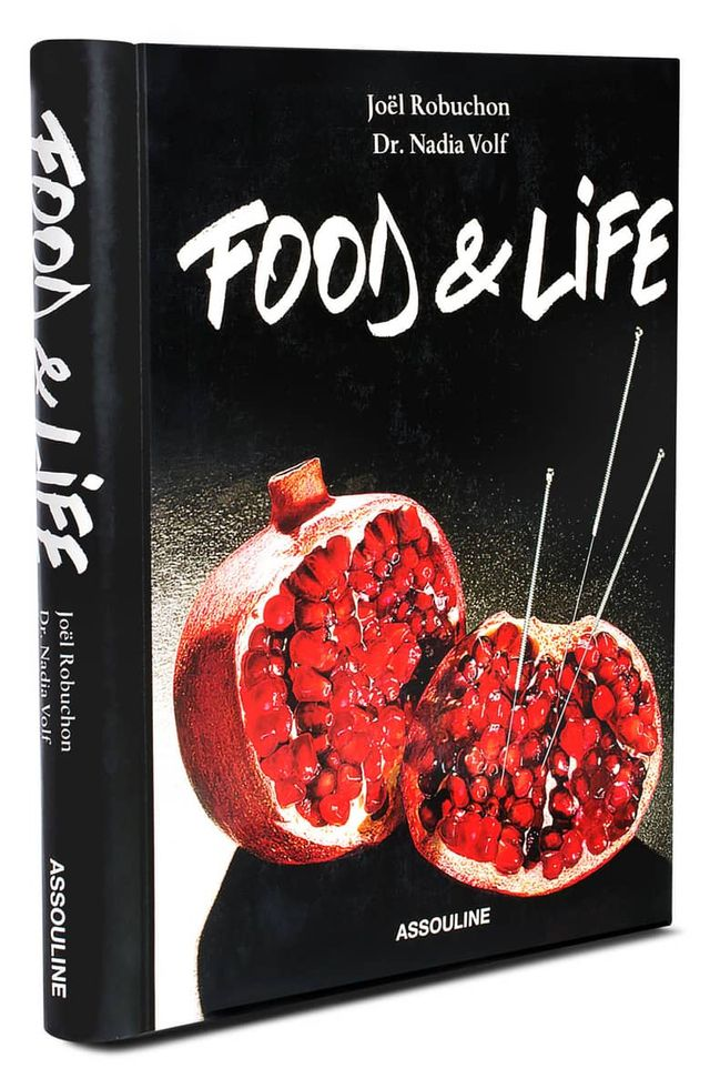 Joel Robuchon and Dr. Nadia Volf 'Food & Life' Book