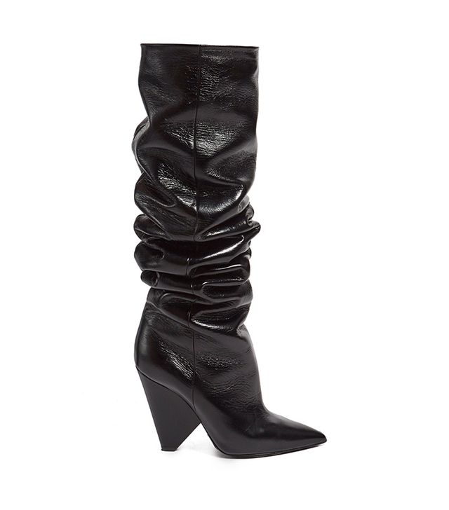 Niki slouch leather boots