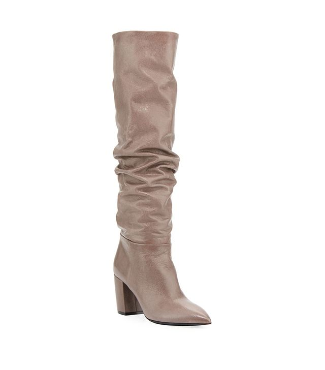 Scrunch Leather 75mm Boot