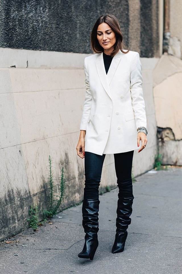 slouch boots and skinny jeans