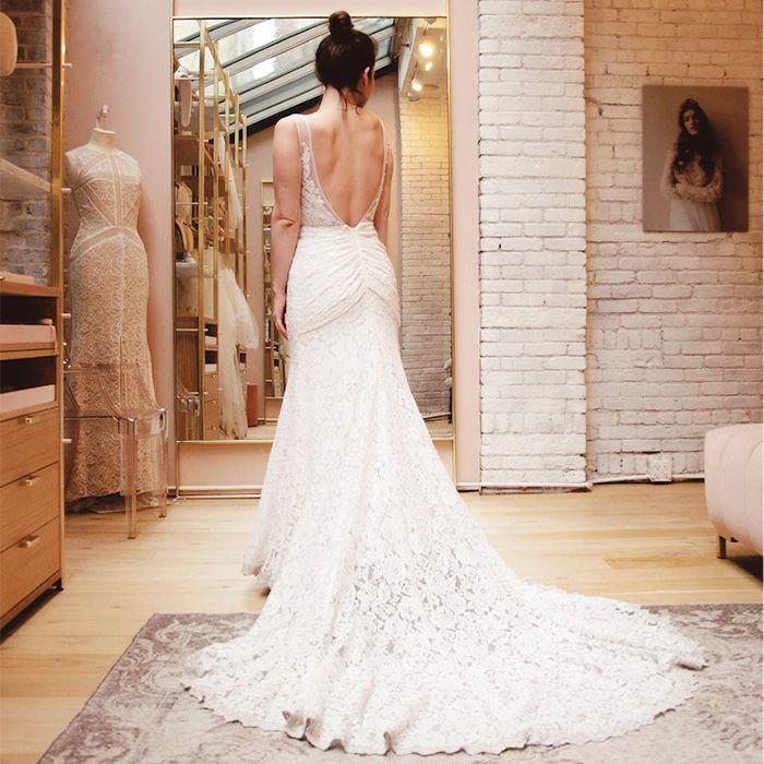 The Best Wedding Dress Shops In L A Who What Wear