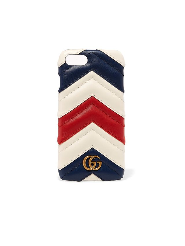 Gucci Quilted leather iPhone 7 case