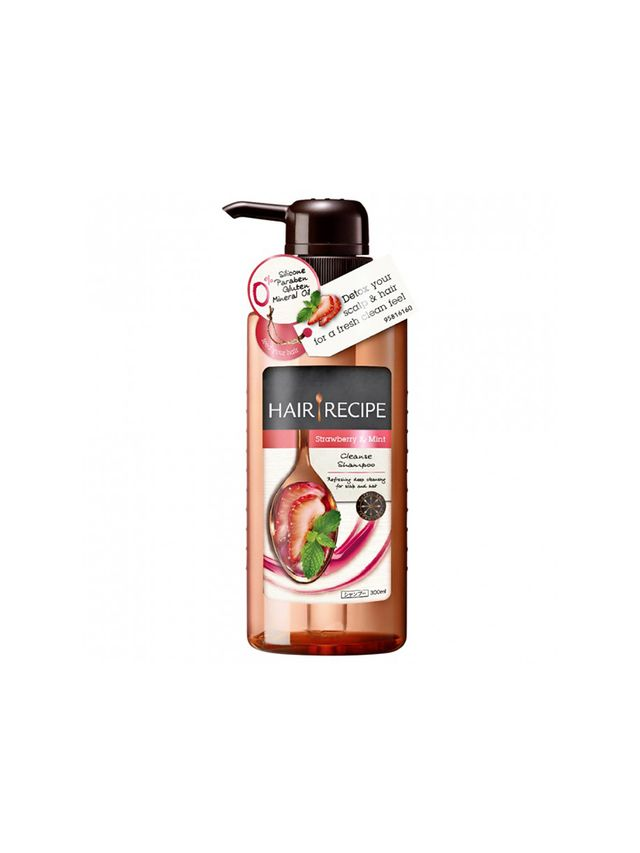 Hair Recipe Strawberry and Mint Cleanse Shampoo