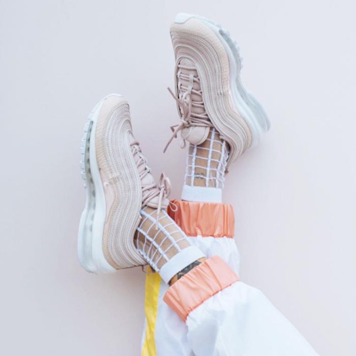 Sneakers Nike air max 97 silver bullet of Saki Nakajima on
