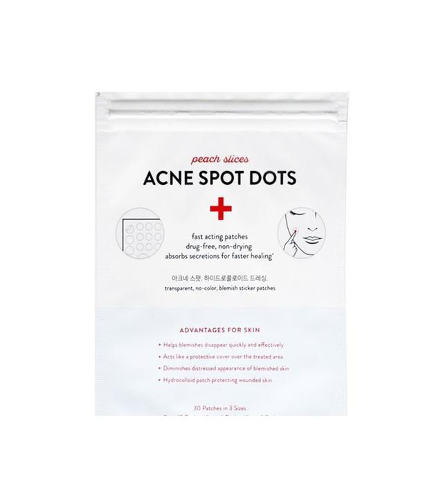 Peach Slices Acne Sport Dots