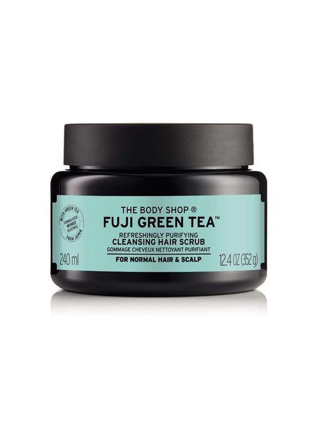 Best Hair Treatment for Oily Hair The Body Shop Fuji Green Tea