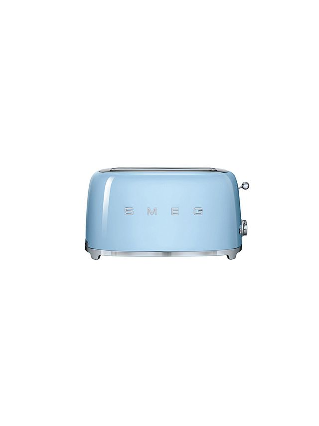 Smeg 4-Slice Toaster in Pastel Blue