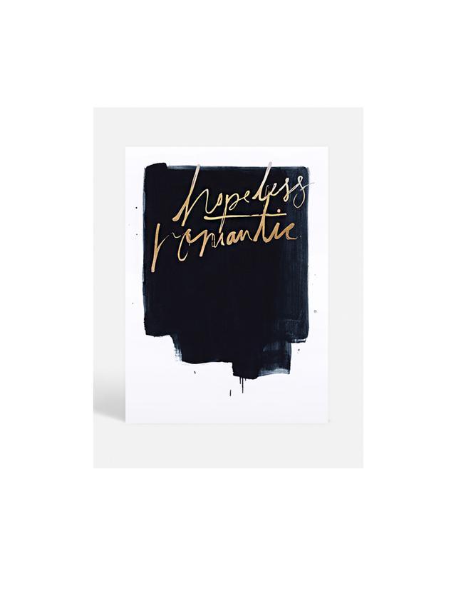 Blacklist Hopeless Romantic Print