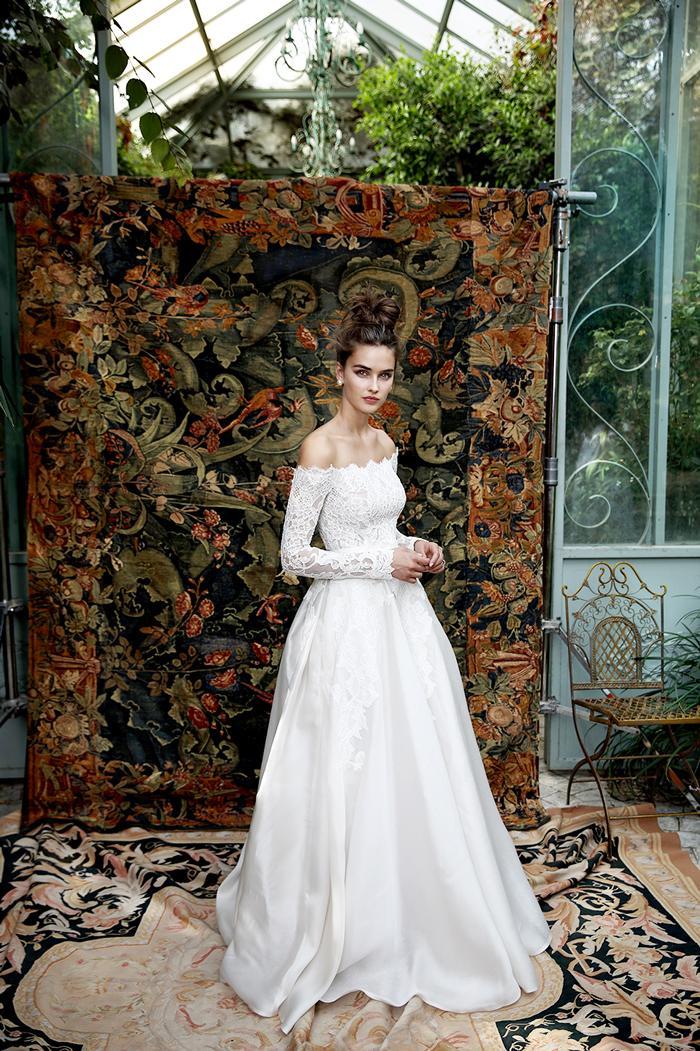 9 Breathtaking Non-Veil Wedding Looks   Who What Wear