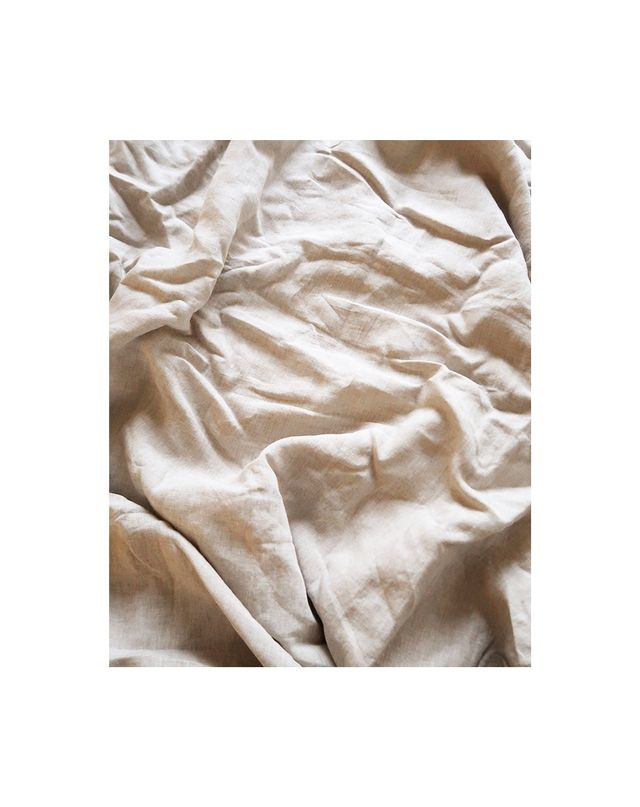 Bed Threads Oatmeal Linen Bedding Set