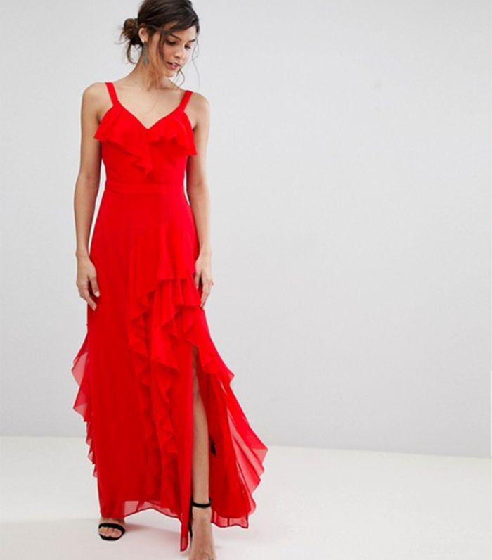 Can You Wear Red To A Wedding Who What Wear
