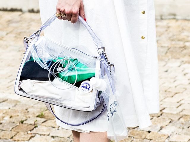 13 Clear Handbags To Carry Now Who What Wear