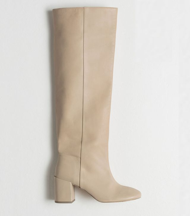 & Other Stories Knee-High Leather Boots