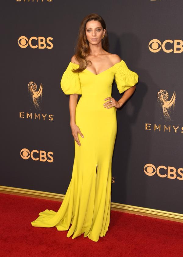 Angela Sarafyan Emmy Awards 2017 Red Carpet Celebrity Looks