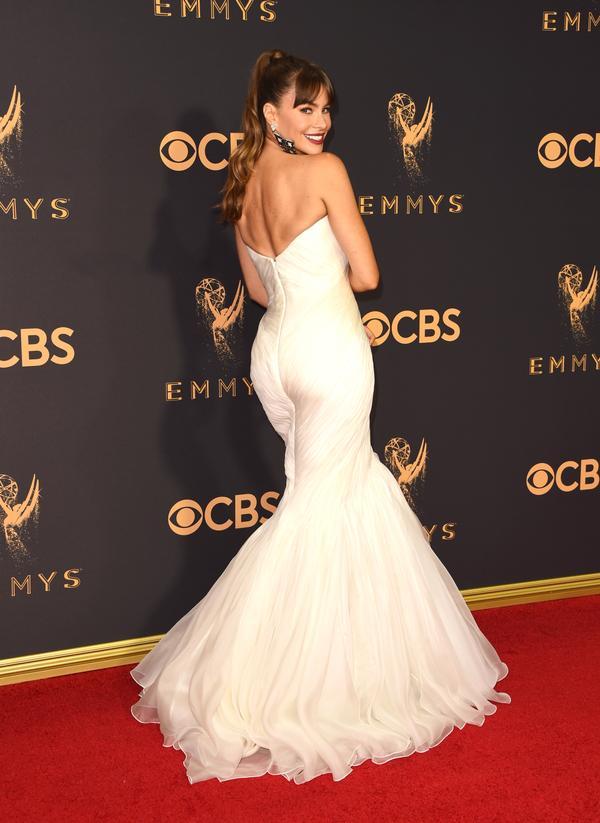 Sofía Vergara Emmy Awards 2017 Red Carpet Celebrity Looks