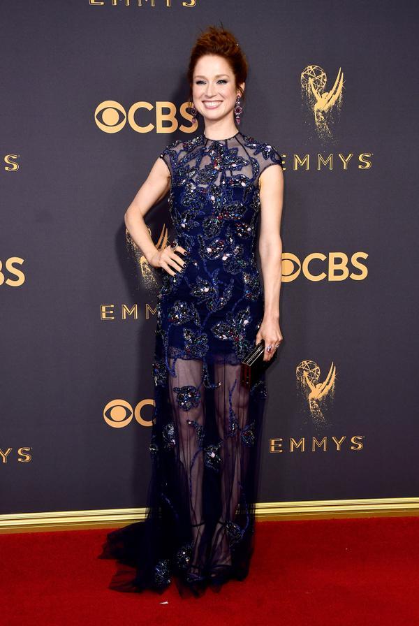 Ellie Kemper Emmy Awards 2017 Red Carpet Celebrity Looks