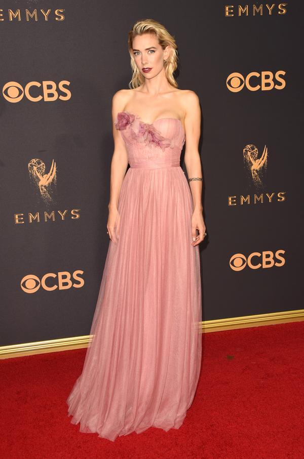 Vanessa Kirby Emmy Awards 2017 Red Carpet Celebrity Looks