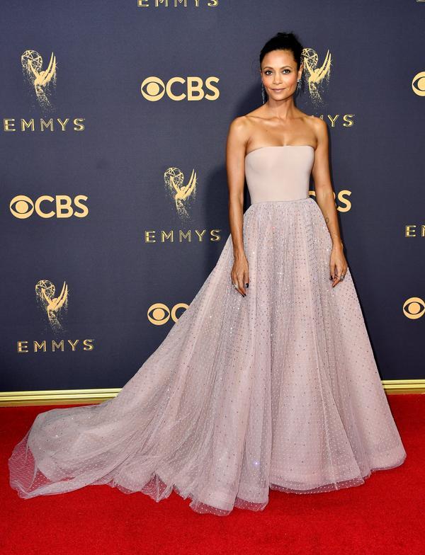 Thandie Newton Emmy Awards 2017 Red Carpet Celebrity Looks