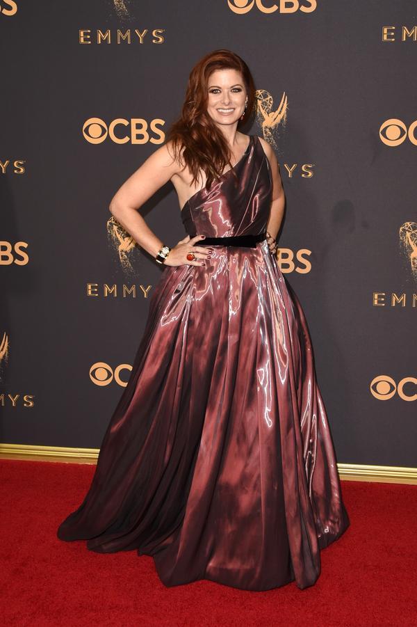 Debra Messing Emmy Awards 2017 Red Carpet Celebrity Looks