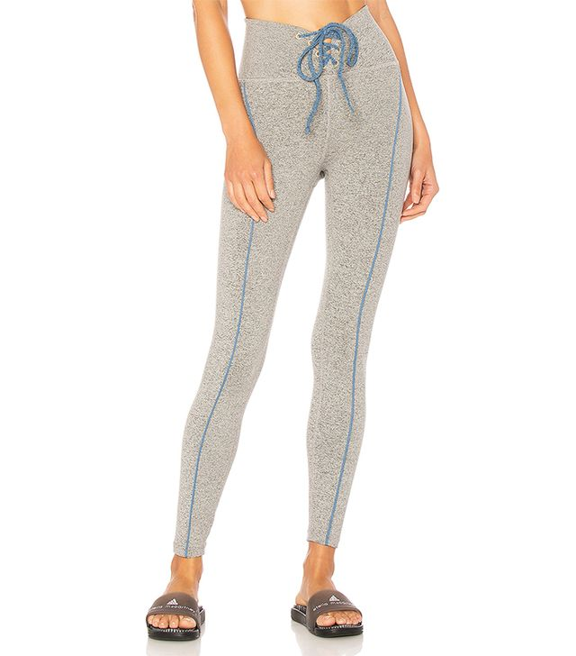 Football Legging in Gray. - size L (also in M,S,XS)
