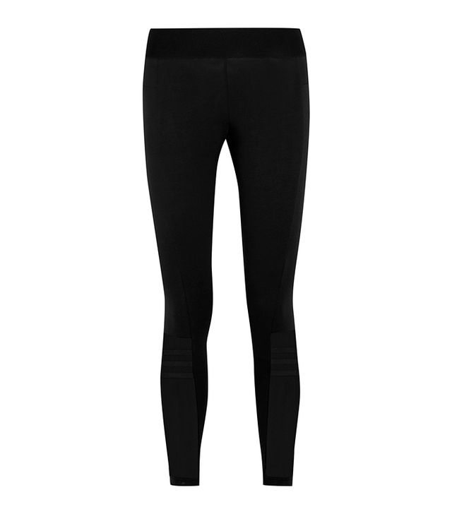 Takeover Stretch Cotton-blend Jersey Leggings