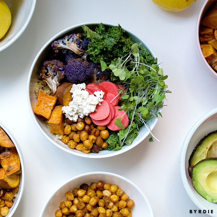 Rainbow Bowl Recipe—Lee From America | TheThirty