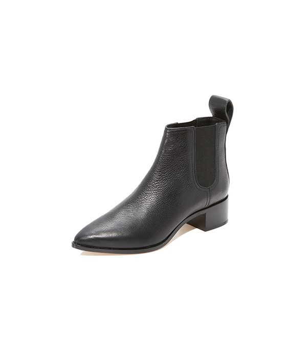 Nellie Pointed Toe Chelsea Booties