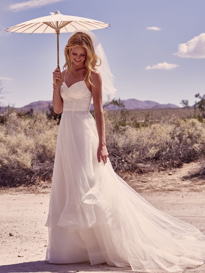 David\'s Bridal Galina Collection Campaign | Who What Wear